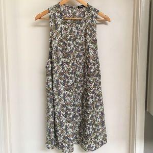American Apparel floral sleeveless dress